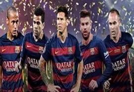 5 ستاره بارسلونا در تیم منتخب یوفا