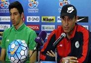 کنفرانس خبری مربیان قبل از بازی النصر - ذوب آهن