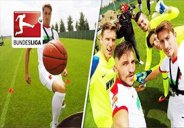 چالش جذاب روپایی بازیکنان آگزبورگ با توپهای مختلف