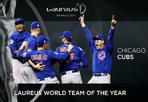 شیکاگو کابز برنده جایزه تیم برتر سال در لاروس 2017
