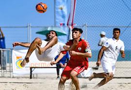 گلهای فوتبال ساحلی ایران 6-1 افغانستان