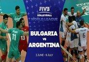 خلاصه والیبال بلغارستان 2-3 آرژانتین