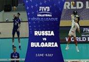 خلاصه والیبال روسیه 2-3 بلغارستان