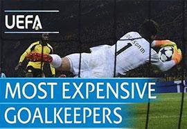 5 دروازه بان گرانقیمت فوتبال اروپا