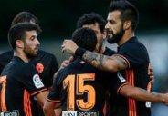 گلهای بازی والنسیا 3-0 اسپورتینگ