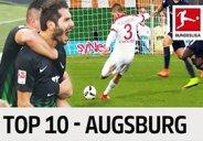 10 گل برتر آگزبورگ در فصل 2017-2016