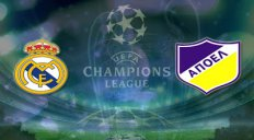 خلاصه بازی رئال مادرید3 - آپوئل 0