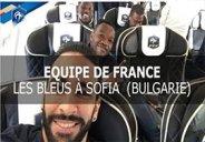 سفر بازیکنان فرانسه به صوفیه برای دیدار با بلغارستان