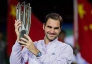 قهرمانی راجر فدرر در تنیس مسترز شانگهای 2017