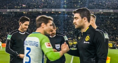 خلاصه بازی دورتموند 0 - وولفسبورگ 0