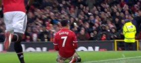 گل اول سانچز شماره ی هفت جدید منچستر یونایتد