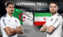 پیش بازی فوتبال ایران - الجزایر