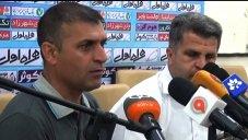 کنفرانس خبری استقلال خوزستان - گسترش فولاد تبریز
