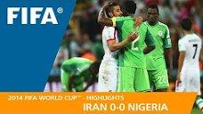 مرور جام جهانی 2014 - ( ایران 0 - نیجریه 0 )