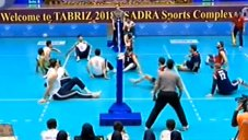 خلاصه والیبال نشسته ایران 3 - آمریکا 0 (لیگ جهانی)