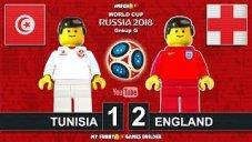 شبیه سازی لگو دیدار تونس - انگلیس