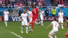 گل اول صربستان به سوئیس (میتروویچ)
