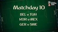 بازی های روز دهم جام جهانی 2018