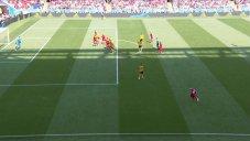 گل اول تونس به بلژیک (برون)