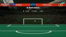 آمار بازی دیدار ایران - پرتغال