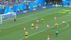گل اول سوئد به سوئیس (امیل فورسبرگ)