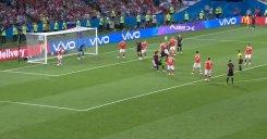 گل دوم کرواسی به روسیه (ویدا)