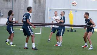 بازگشت مارسلو،کاسمیرو،وارانو کواچیچ به تمرینات