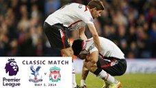 تساوی دراماتیک لیورپول مقابل کریستالپالاس (فصل 2013/14)