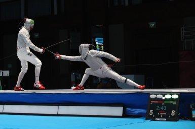 سه ورزشکار برتر المپیک در رشته شمشیر بازی