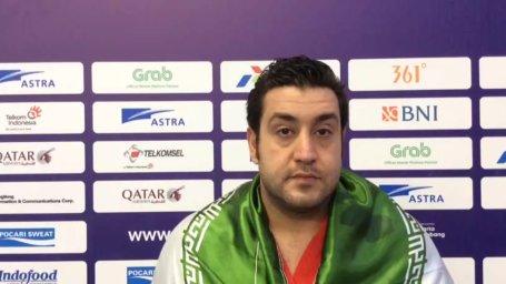 مصاحبه با علی پیروزخواه، کاپیتان تیم ملی واترپلو