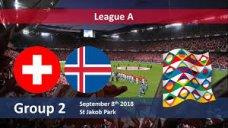 خلاصه بازی سوئیس 6 -  ایسلند 0