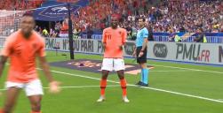 گل اول هلند به فرانسه (رایان بابل)