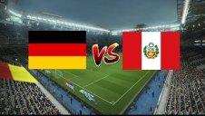 خلاصه بازی آلمان 2 - پرو 1