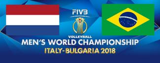 خلاصه والیبال هلند 3 - برزیل 1 (قهرمانی جهان)