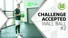 چالش روپایی زدن با دیوار بازیکنان وولفسبورگ (قسمت دوم)