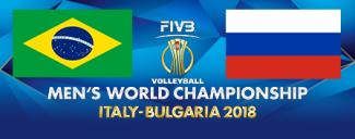 خلاصه والیبال روسیه 2 - برزیل 3 (قهرمانی جهان)