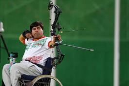 کسب مدال برنز تیر و کمان توسط مجید کاکوش (پاراآسیایی)