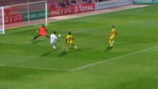 گل بونجاح در بازی الجزایر مقابل بنین