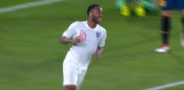گل سوم انگلیس به اسپانیا با دبل استرلینگ