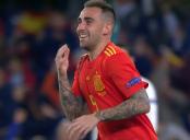 گل اول اسپانیا به انگلیس (آلکاسر)