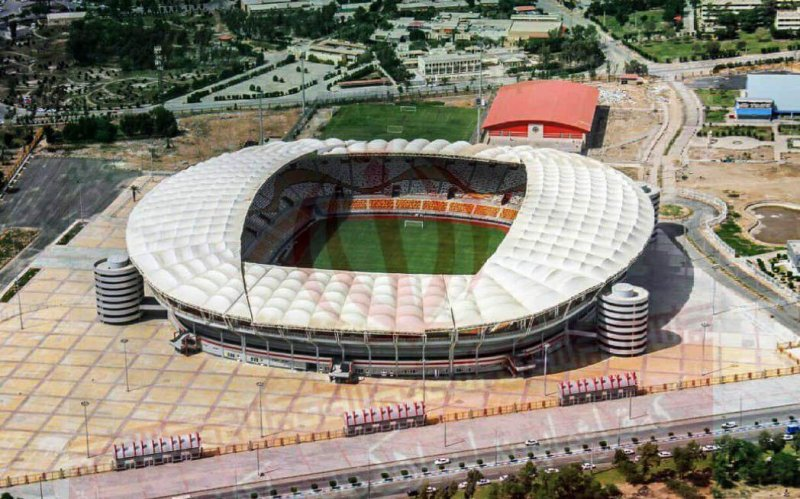 عکسهای ورزشگاه جدید اهواز