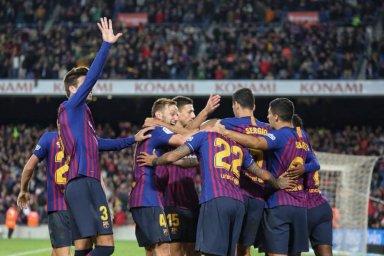 بارسلونا ۵ - رئال مادرید 1؛ پلی استیشن در نوکمپ