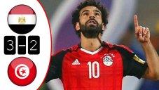خلاصه بازی مصر 3 - تونس 2 (گلزنی صلاح)