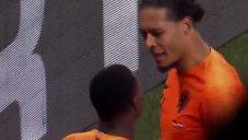 گل دوم هلند به آلمان (فن دایک)