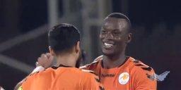 چهارمین گل فصل مامه تیام در لیگ امارات مقابل الوحده