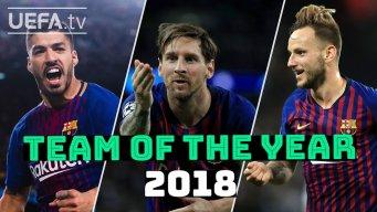 بهترین بازیکنان بارسلونا از نگاه هوادران در سال 2018