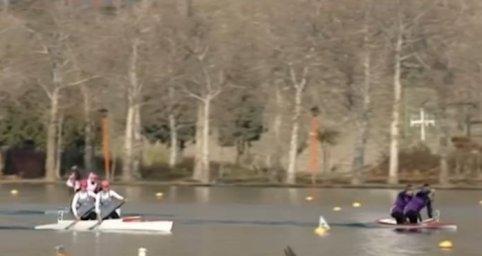 پایان رقابت قایقرانی بانوان در مسابقات کشوری