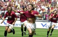بازی خاطره انگیز آ اس رم - آث میلان در سال 2001