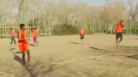 اردوی تیم ملی هندبال ساحلی برای حضور در رقابتهای قهرمانی آسیا