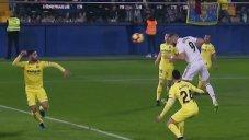 گل اول رئال مادرید به ویارئال (کریم بنزما)